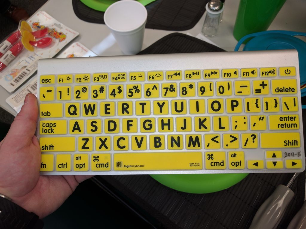 Large format keyboard