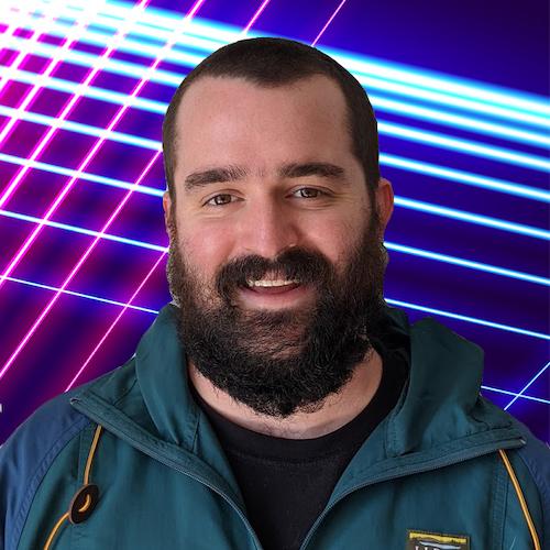 Nick Romano smiling