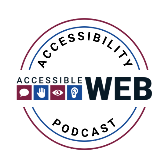 Accessible Web's Accessibility Podcast Logo