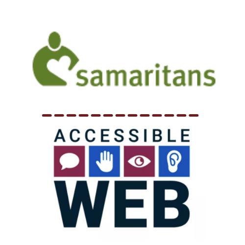 Samaritans and Accessible Web Logo